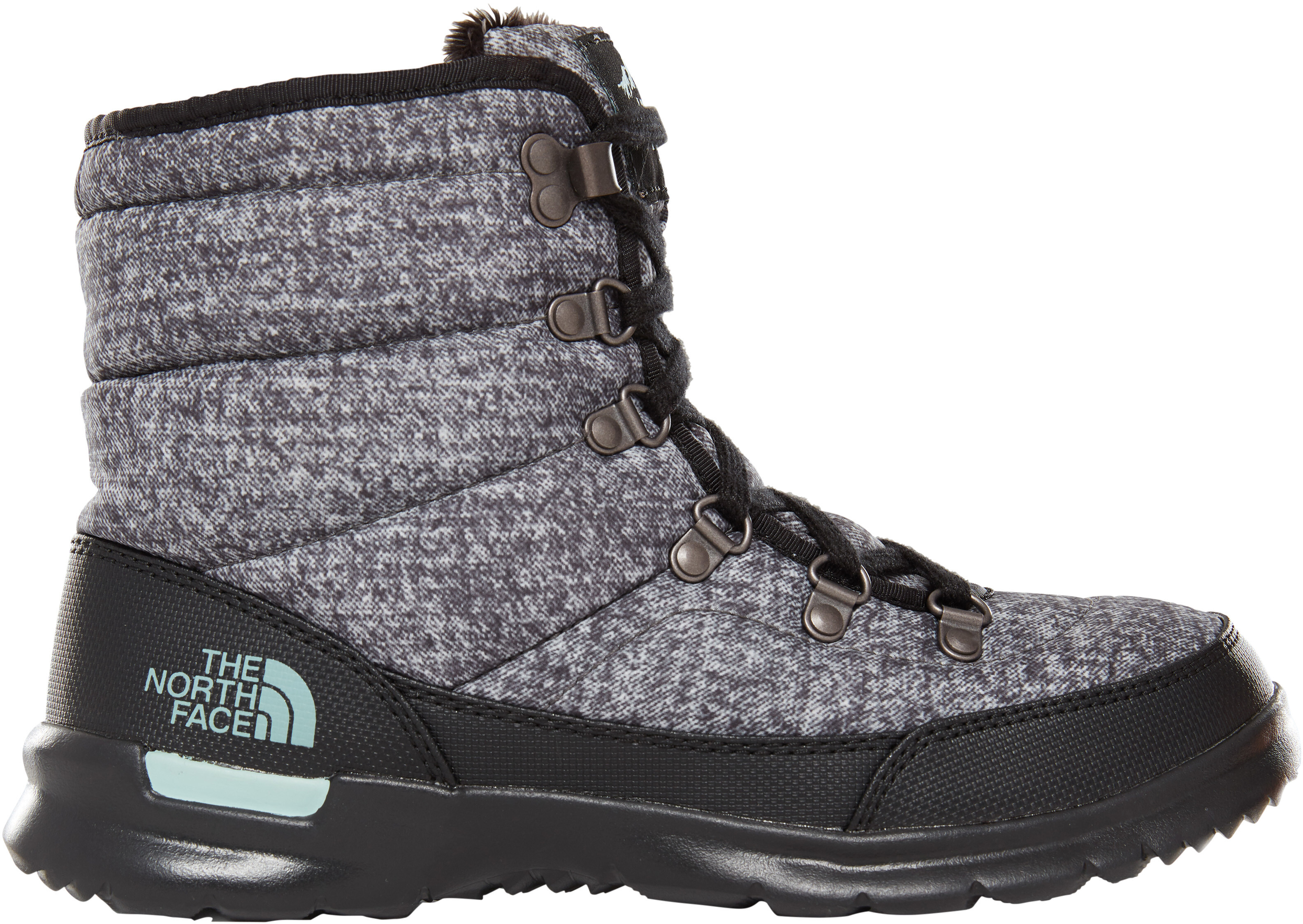 0d14c2cc The North Face Thermoball Lace II Shoes Women burnished houndstooth  print/blue haze